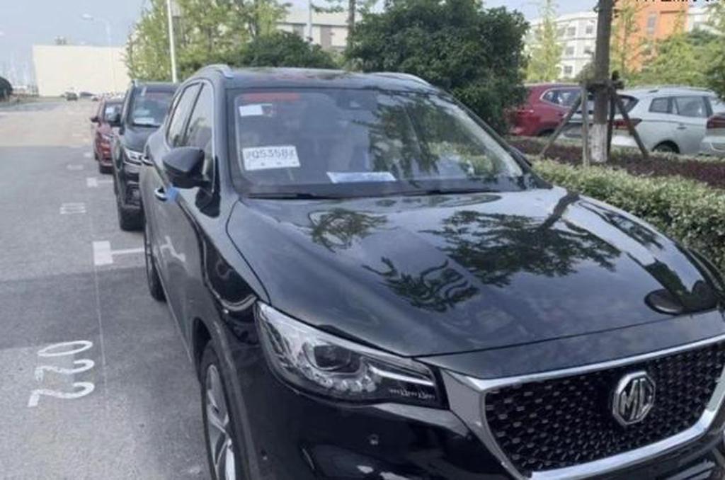 名爵eHS 50T无伪装谍照曝光 该车将于2019年下半年上市