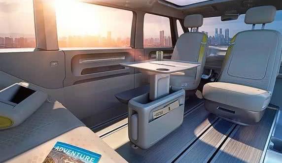 奔驰EQV新款概念车发布,8座设计,能够露营