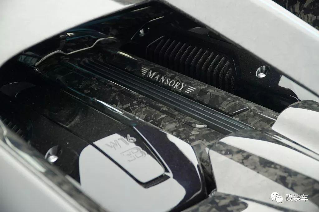 日内瓦车展 | Mansory大量新作,其中包括爆改布加迪Chiron!
