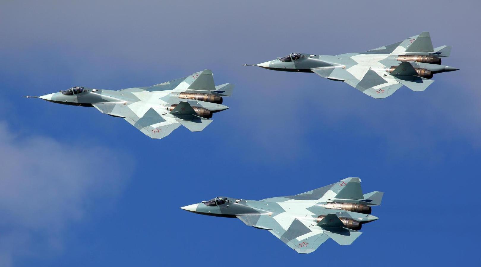 苏-57出口将解禁,俄高官喊话中国:苏-35和苏-57你们要哪个?