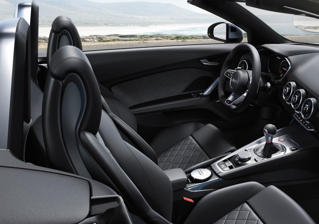新款奥迪TTS Roadster官图发布,仅4.8秒破百