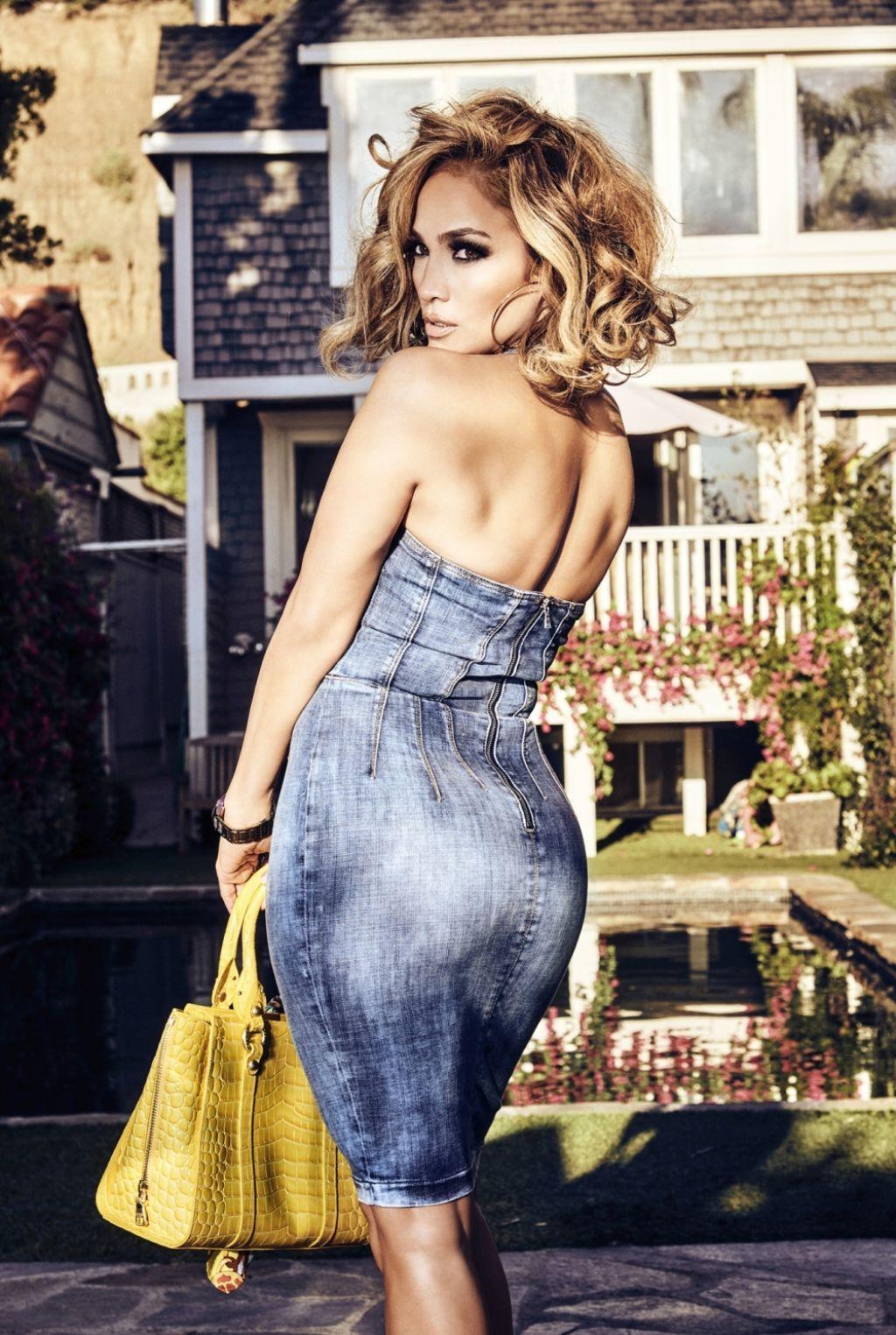 詹妮弗·洛佩兹(Jennifer Lopez)-2020年春季时装
