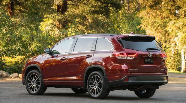 全新设计的2020款丰田汉兰达 全新外观,更大尺寸 新浪汽车