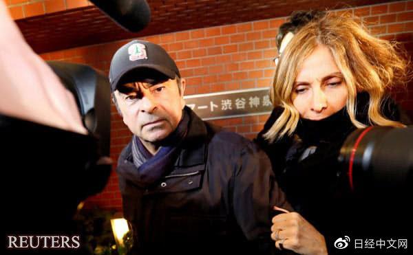 日本要求国际刑警组织通缉戈恩妻子