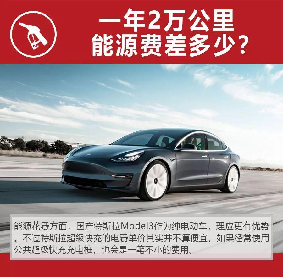 30多万买国产特斯拉Model3还是宝马3系,养车费用差多少?