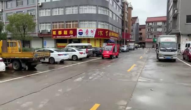 嘉兴桐乡消防大队发动辖区微型消防车开展疫情防控宣传