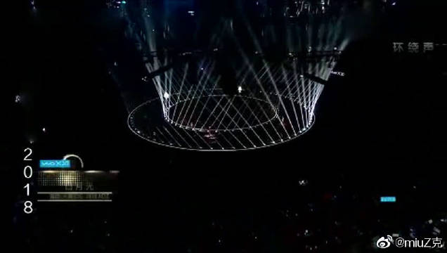 跨年演唱会 2018:张信哲演唱《白月光》,7080后集体回忆