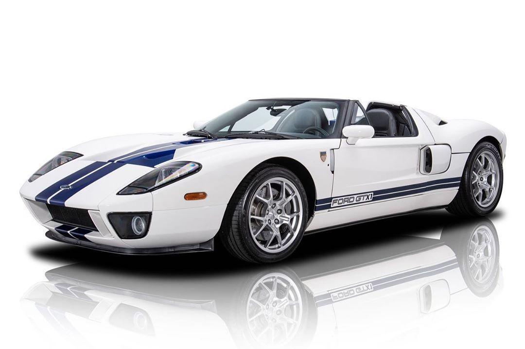 福特GT实车 硬朗修长的大气感