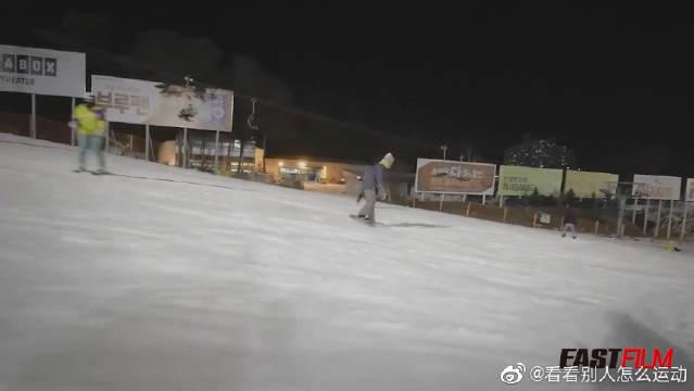 绝对让你眼花缭乱的日本单板滑雪平地花式!小姐姐们真的很棒!