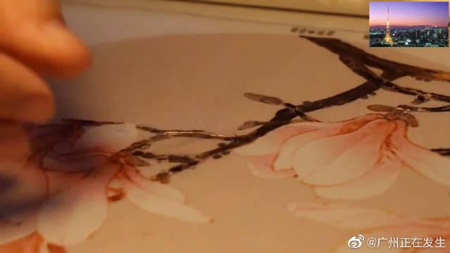广绣中凝聚着历代艺人的天才与智慧