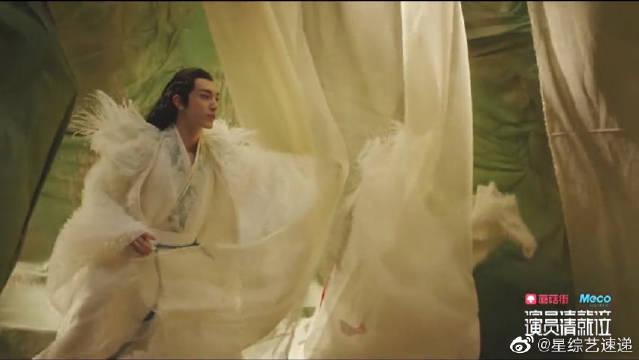 郭敬明版《妖猫传》,白龙丹龙奔跑在青纱帐间美轮美奂