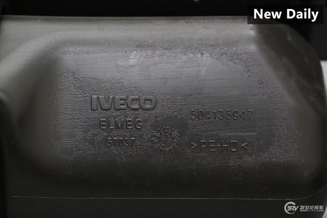 100张底盘细节实拍对比揭秘 进口依维柯国产依维柯差别在哪