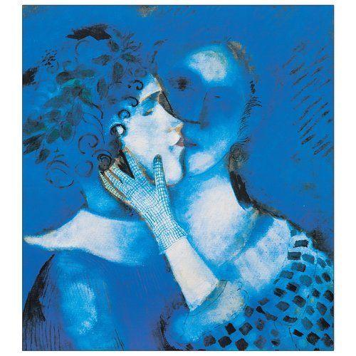 Marc Chagall 马克·夏加尔的蓝