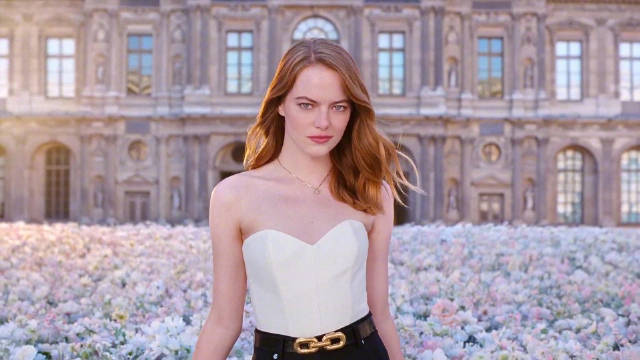 艾玛·斯通出镜香水广告+拍摄花絮