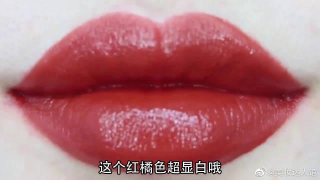 圣诞限量版唇膏试色,你喜欢吗?阿玛尼206 太好看了吧
