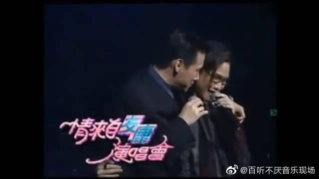 张学友苏永康同台演唱《越吻越伤心》,明显感受到歌神的气息够足
