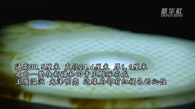 寻宝中华:青玉龙螭衔环谷纹璧