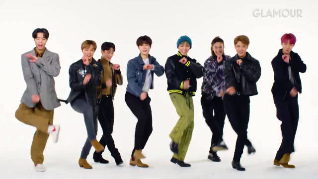 200109 Glamour油管更新视频一则NCT127 Takes a Friendship T