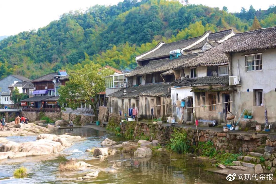 民国第一村 !这个藏在深闺的宁波小村,600多年时光美若桃源仙境..