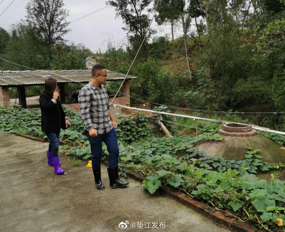 近日,砚台镇组织对辖区内畜禽规模养殖场进行污染排放排查