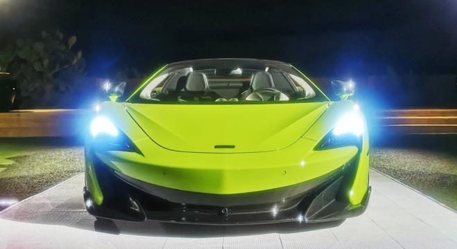 迈凯伦600LT Spider首发亮相,新车2月20日上市