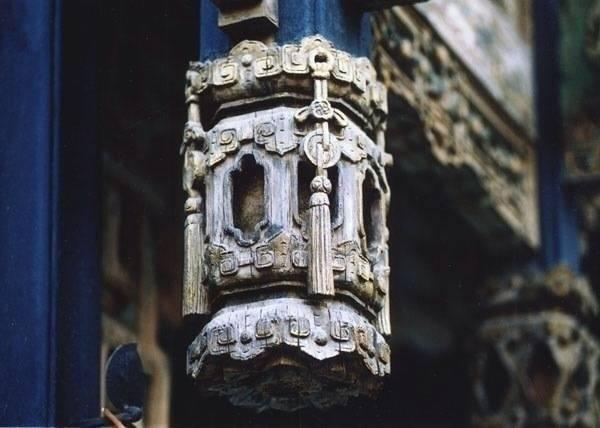 即将丢失的中国古建筑 · 垂花柱