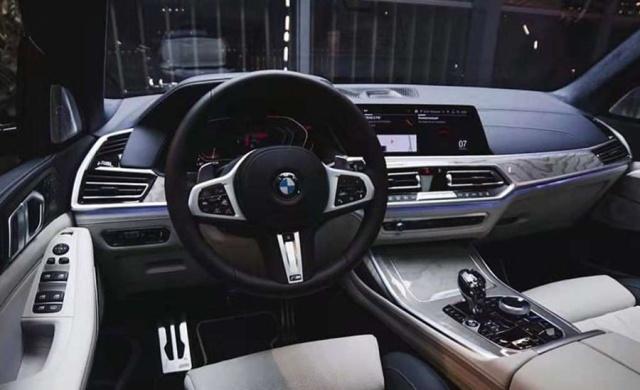 """宝马X7即将国产!搭""""天使眼""""+水晶档杆,长5.2米还配V8发动机"""
