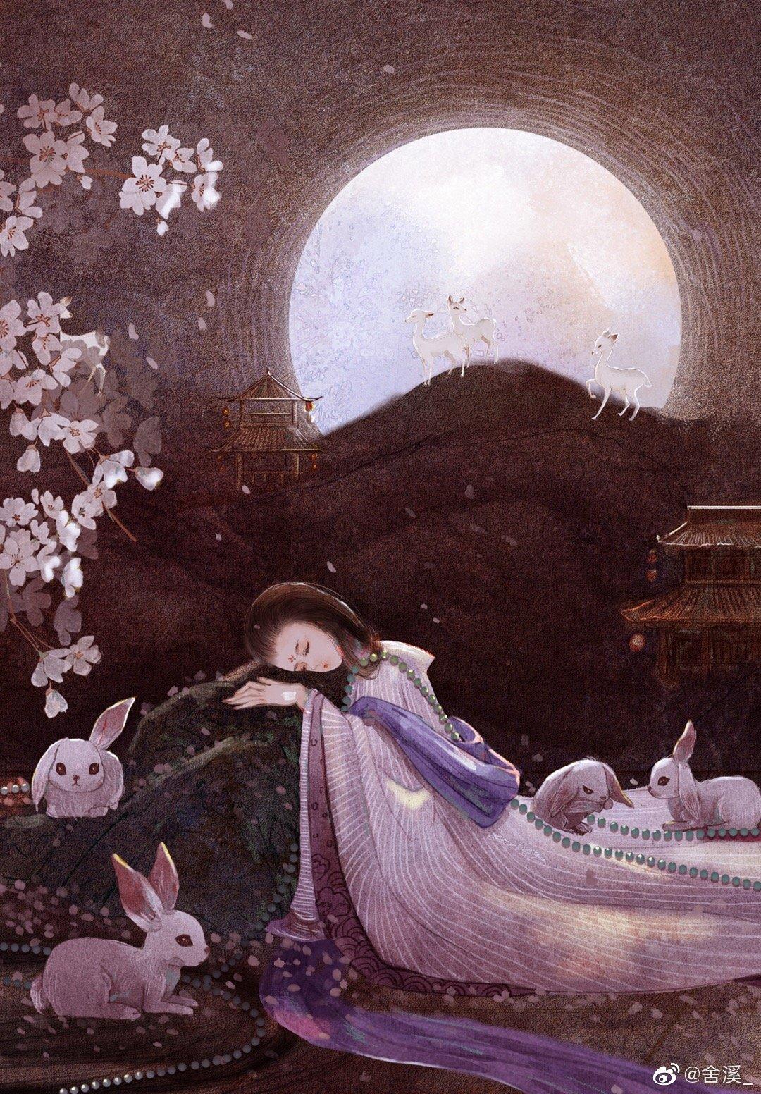 小憩一梦,月已团圆
