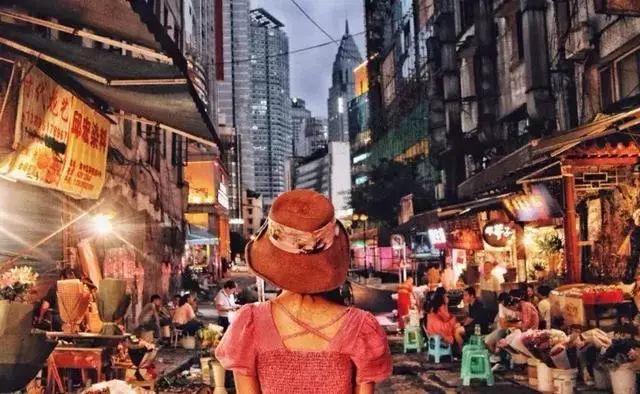 解放碑美食鲁祖庙的这些老店美食,重庆土著一定海路什么一条街背后图片