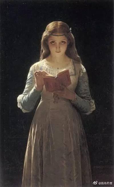 法国学院派艺术画家Pierre Auguste Cot