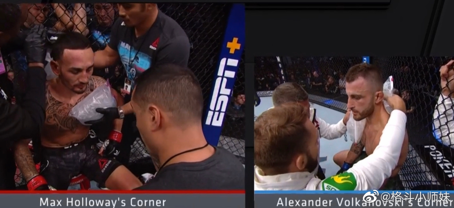 """and new ""大帝沃尔卡诺夫斯基击败天佑霍洛威成为UFC羽量级新冠军"