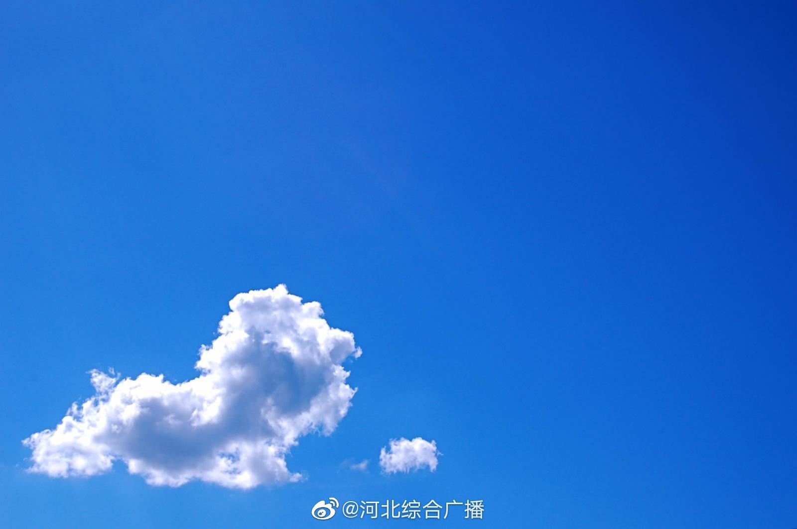 今天下午到夜间,石家庄南部、衡水、邢台、邯郸多云转晴