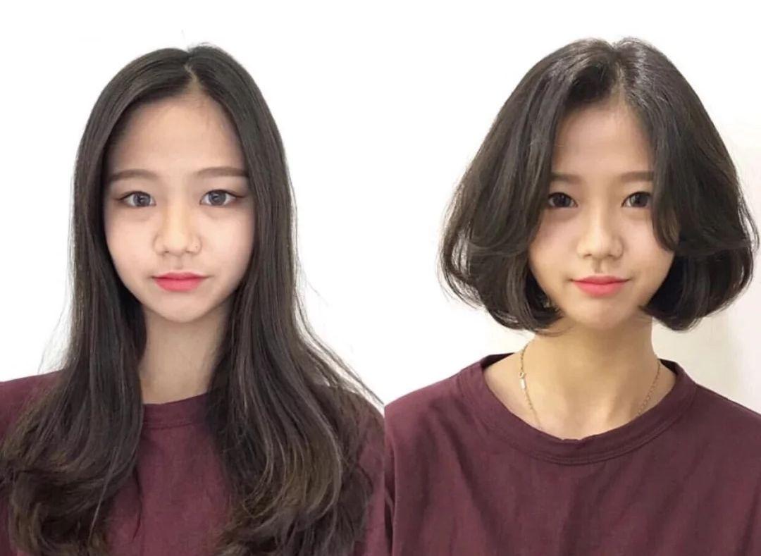"""2019年最火的""""摩根烫""""发型,扁塌头型,发量少女生烫超好看"""