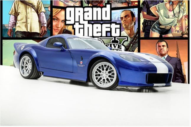 逮虾户!《GTA5》中的女妖跑车实车拍卖