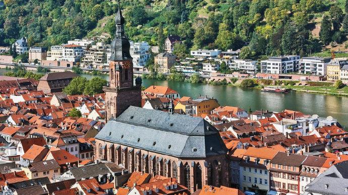 德国海德堡老城遗失的美好