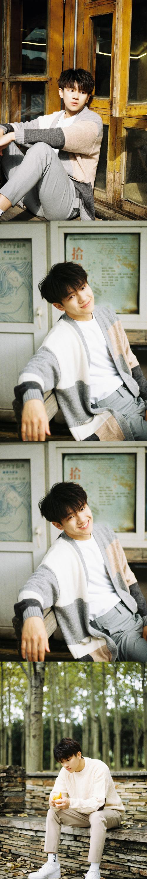 来看看新人演员@张帆_Fannn 的最新写真吧