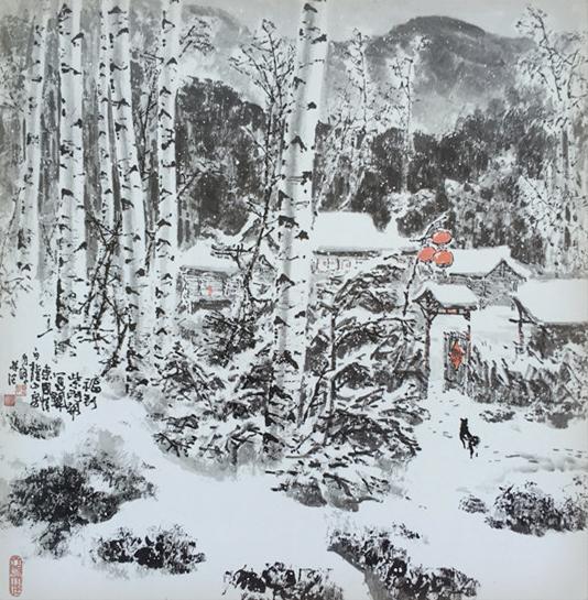 """他被誉为""""中国第一雪""""!关东画派的领军人物!"""