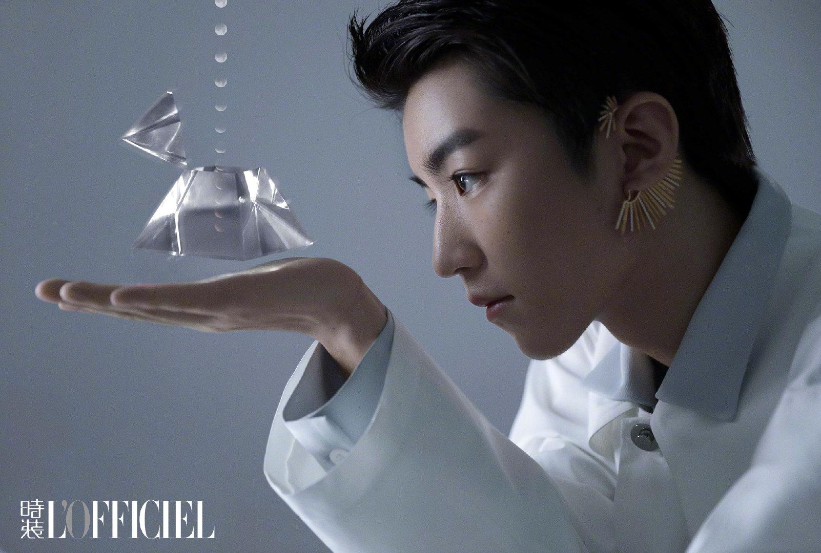 王俊凯 x《时装LOFFICIEL》内页大片来啦,王俊凯说:不想变成别人