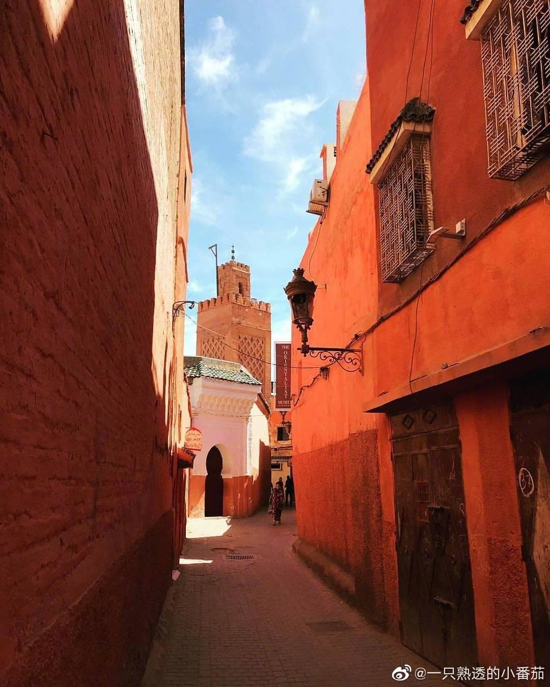 """马拉喀什marrakesh                — 摩洛哥""""红城"""""""