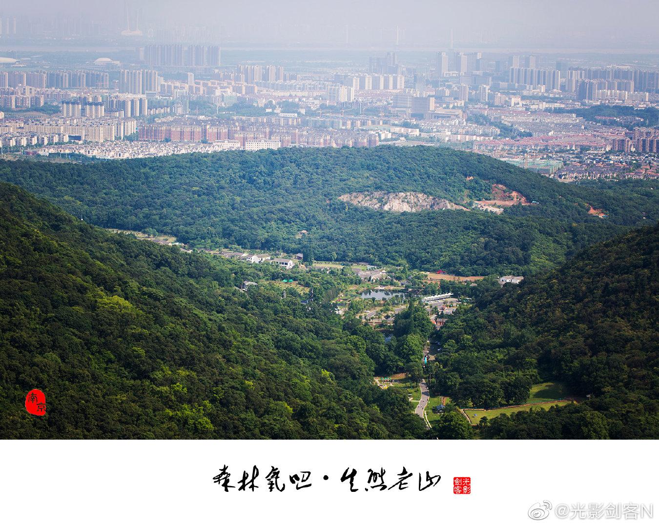 森林氧吧,生态老山南京老山国家森林公园图片