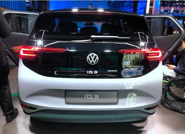 ID.3量产版首发 开启大众汽车新时代