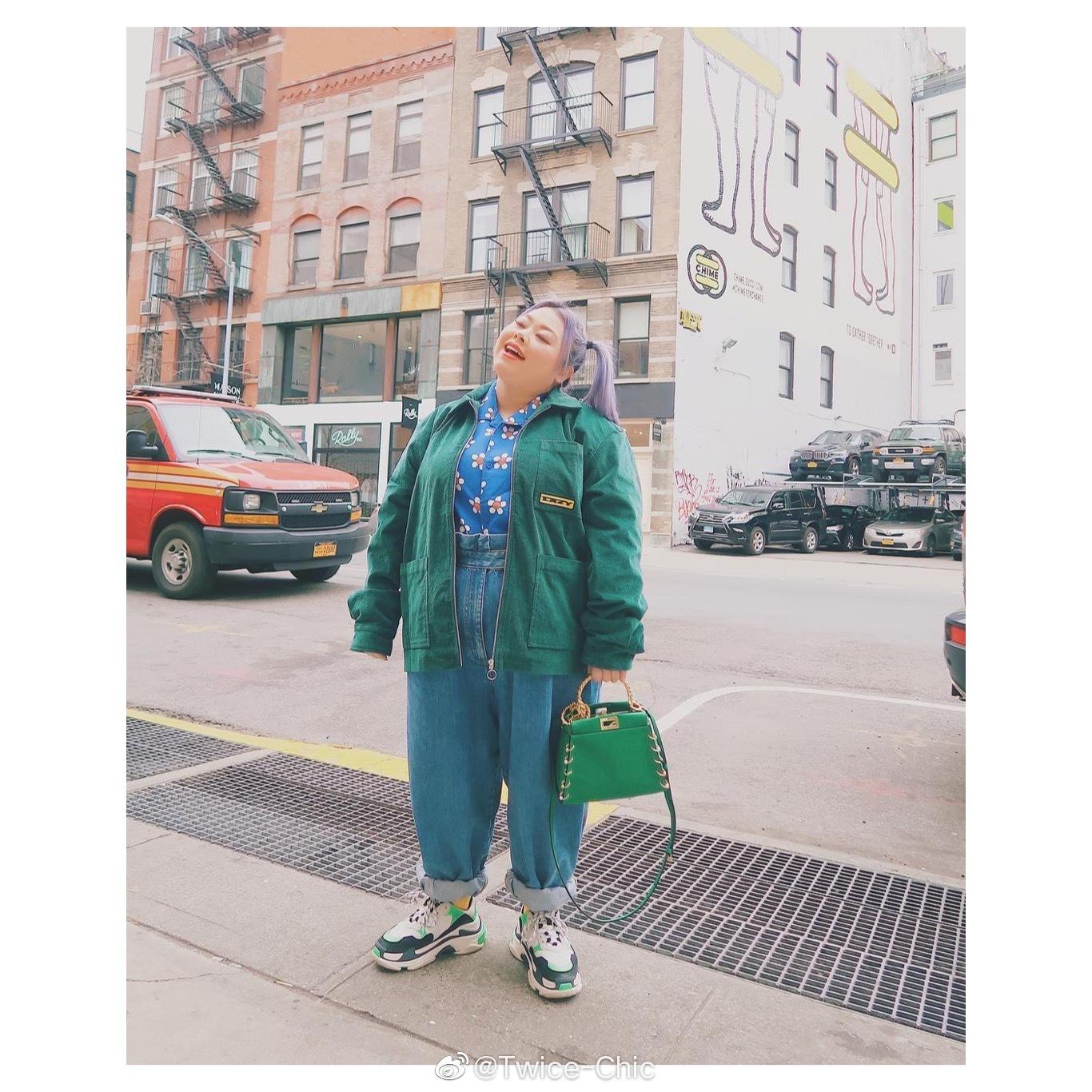 秋日胖女孩穿搭   渡边直美的生活穿搭,正如她可爱欢脱的性格一般