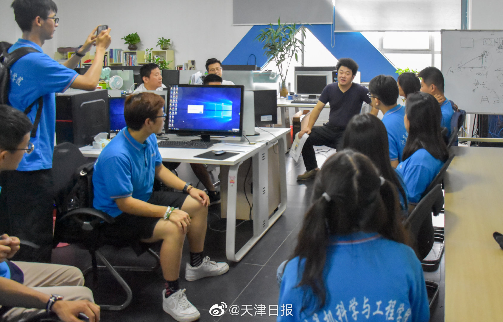 天津理工大学计算机学院学子走近科技企业开展社会实践