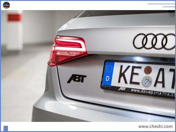 奥迪新RS3 ABT实拍曝光!动力大涨,3.7s破百,比保时捷911快