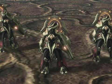 星际争霸:神族战役中有不少imba的单位,净化者巨像十分灵活!