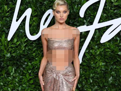 直击英国时尚大奖红毯:艾玛·罗伯茨显高挑,龙妈穿黄裙惊艳四座