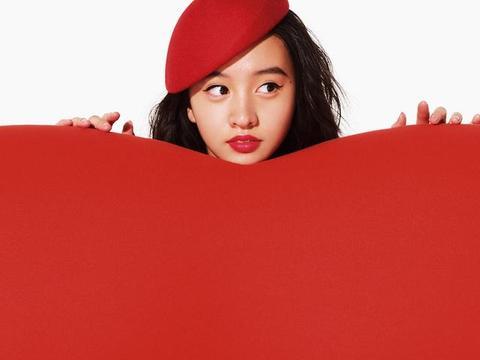 木村光希最新杂志造型,精致五官可爱小红帽,继承木村拓哉高颜值