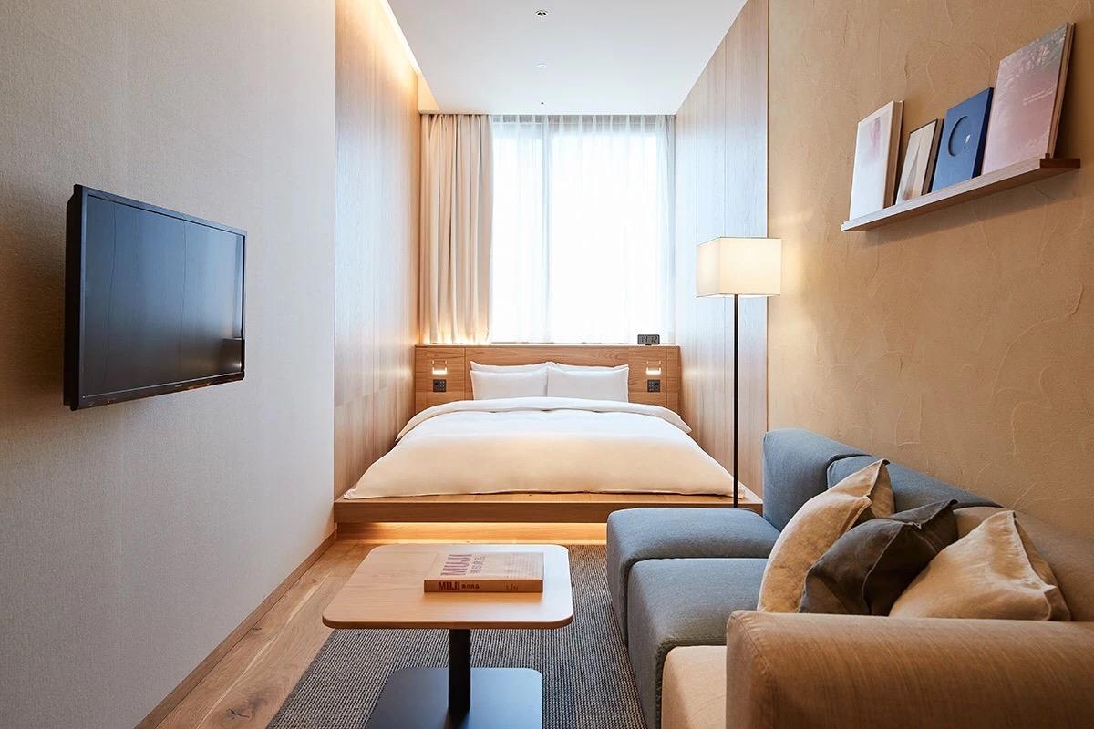 全球第三家muji hotel东京银座无印良品酒店设计/uds图片