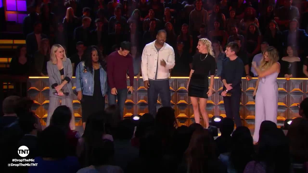 """《欢乐合唱团》(Glee)卡司重聚说唱节目""""Drop the mic"""""""