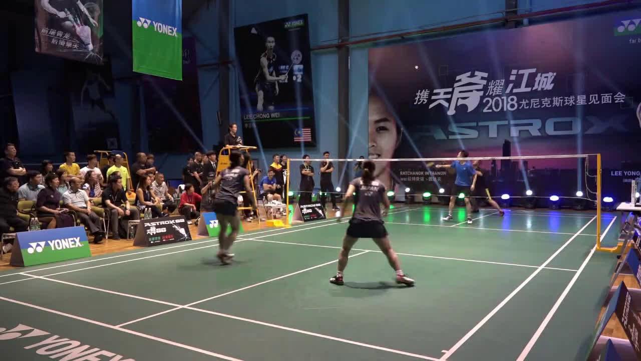 低视角 业余男双高手挑战日本国家队女双
